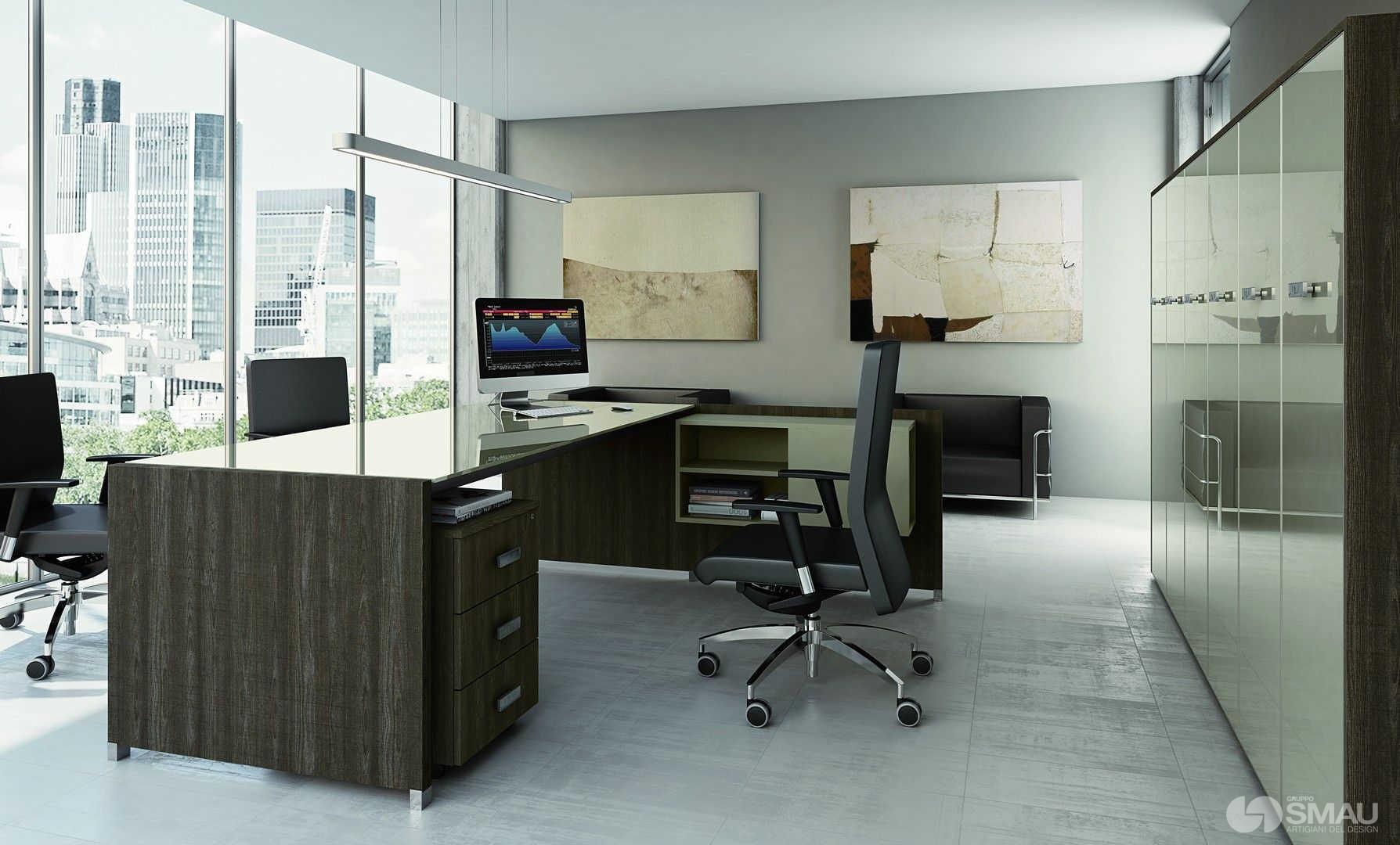 Ufficio direzionale tower evo gruppo smau for Mobili ufficio moderni