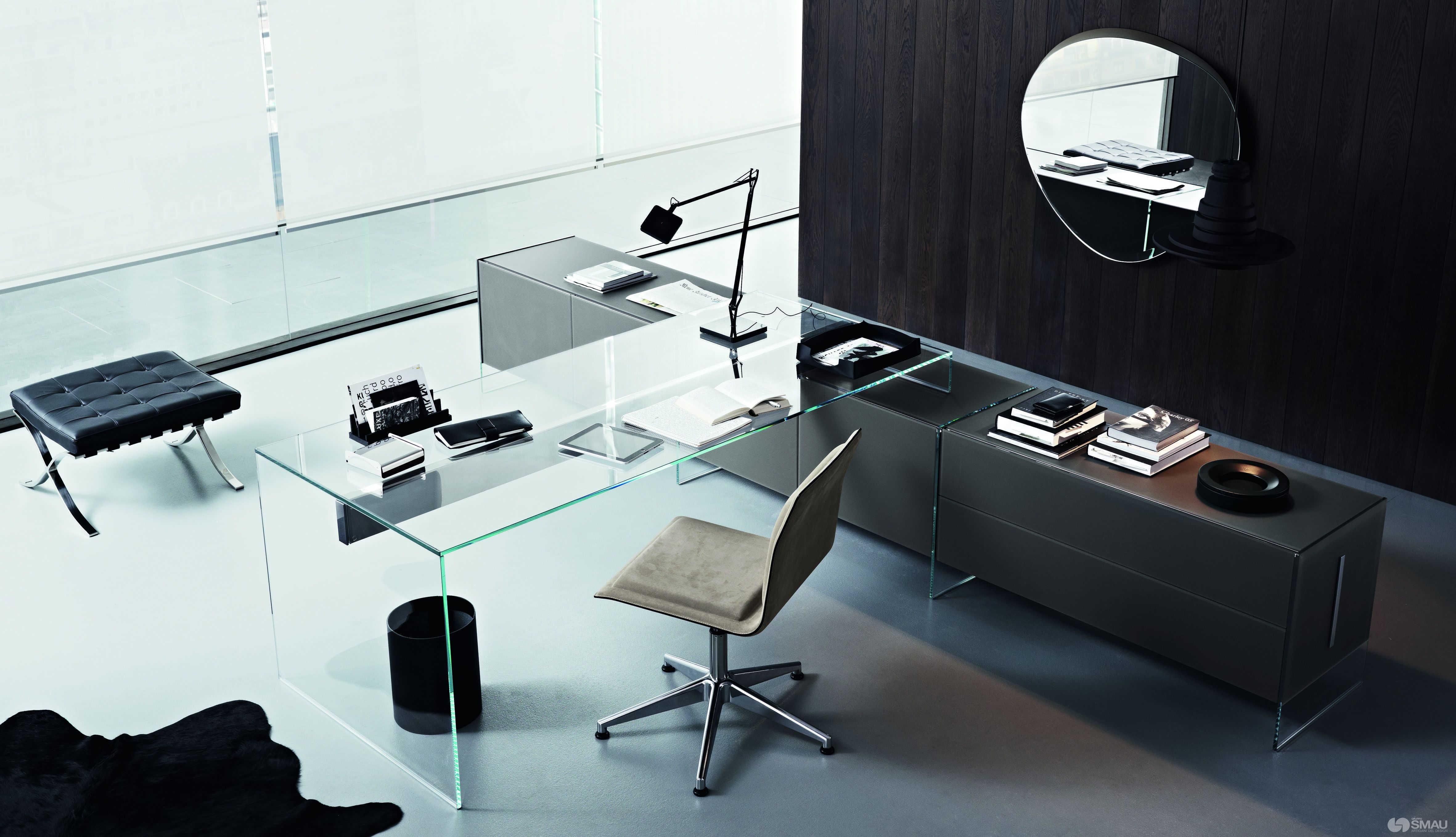 Arredo Ufficio Presidenziale - Linea Glass (1)