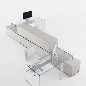 Arredo Ufficio Presidenziale - Linea Glass (8)