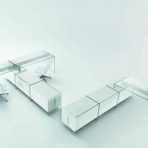 Arredo Ufficio Presidenziale - Linea Glass (9)