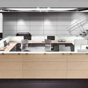 Arredo Ufficio Reception - Linea Nice (8)