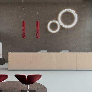 Arredo Ufficio Reception - Linea Qubo (3)