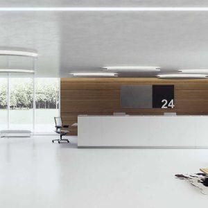 Arredo Ufficio Reception - Linea Qubo (4)