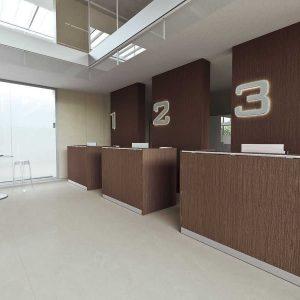 Arredo Ufficio Reception - Linea Qubo (6)