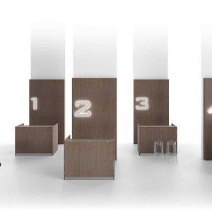 Arredo Ufficio Reception - Linea Qubo (7)