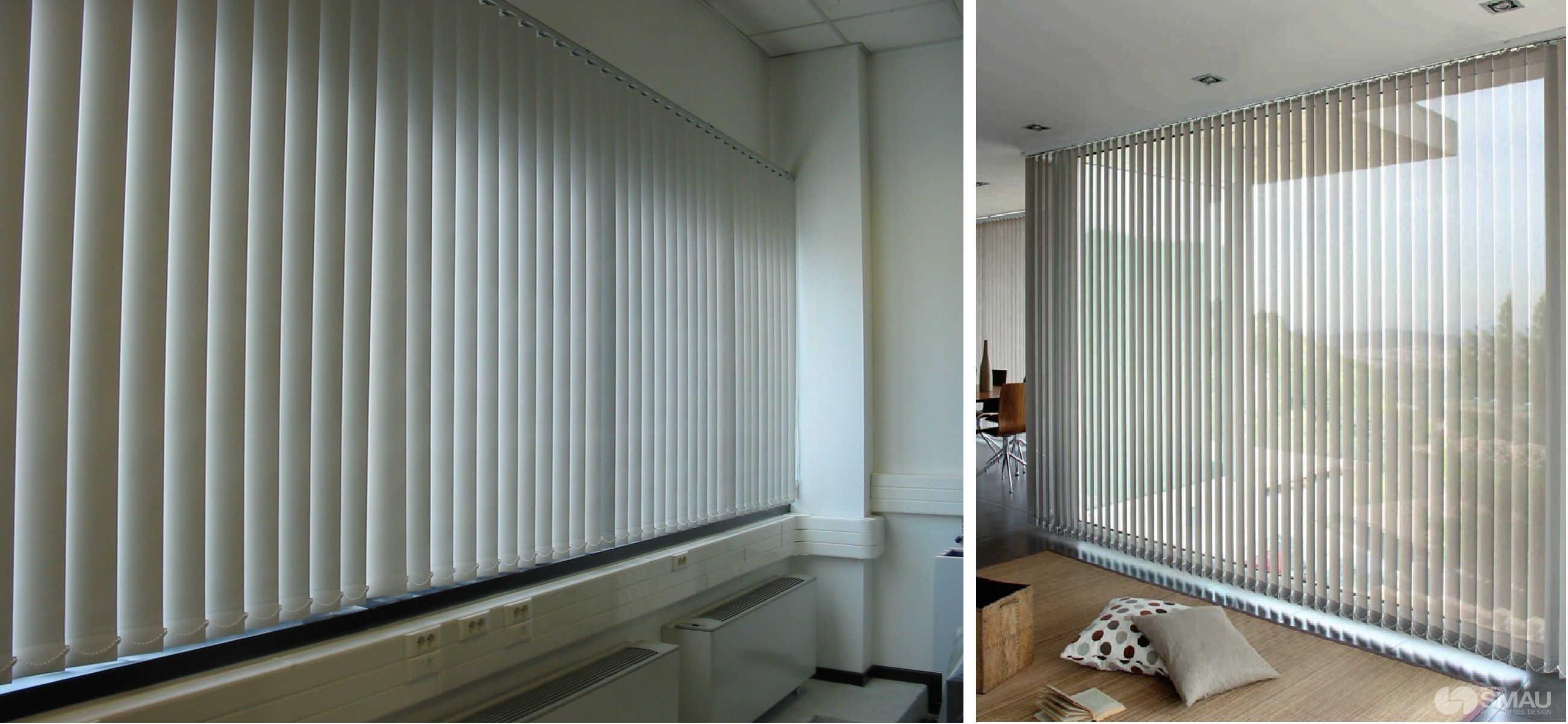Tende divisorie ambienti oppure potreste creare un muro divisorio in cartongesso come abbiamo - Tende a pannello per ufficio ...