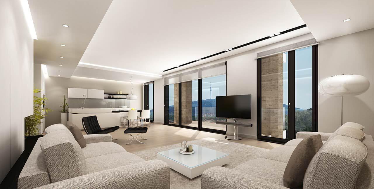 Realizzazione Render Casa Privata Eur (2)