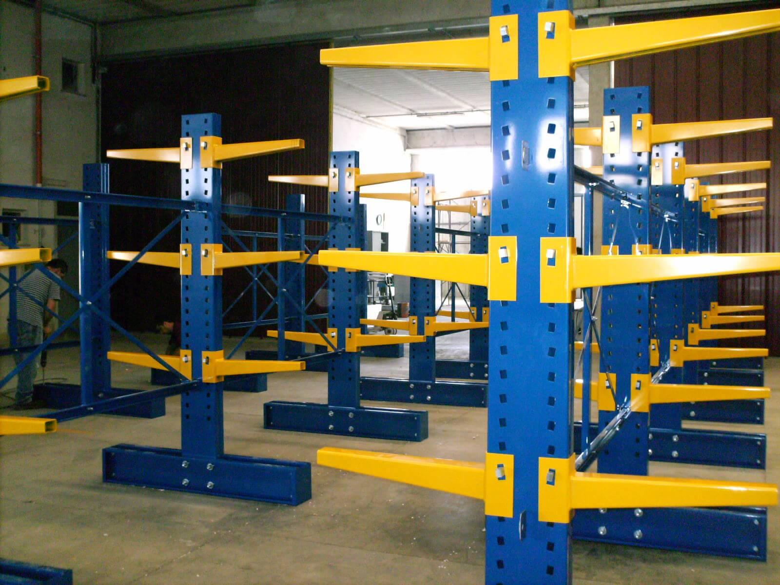 Realizzazione Scaffalatura Centro Alluminio (4)