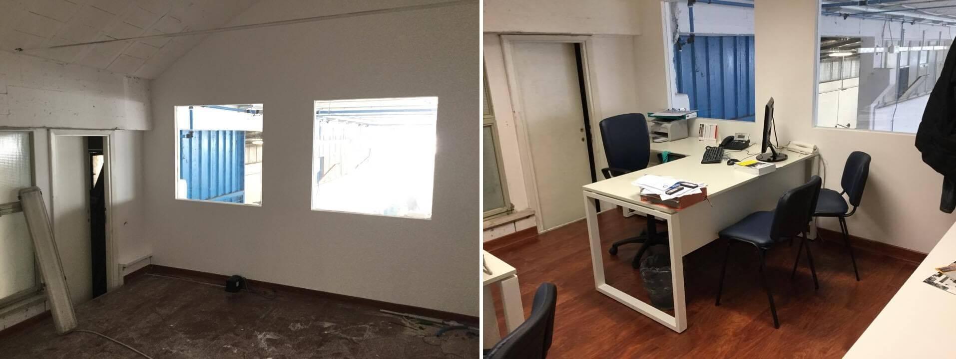 Ristrutturazione ed arredamento ufficio roma gruppo smau for Negozi arredamento ufficio