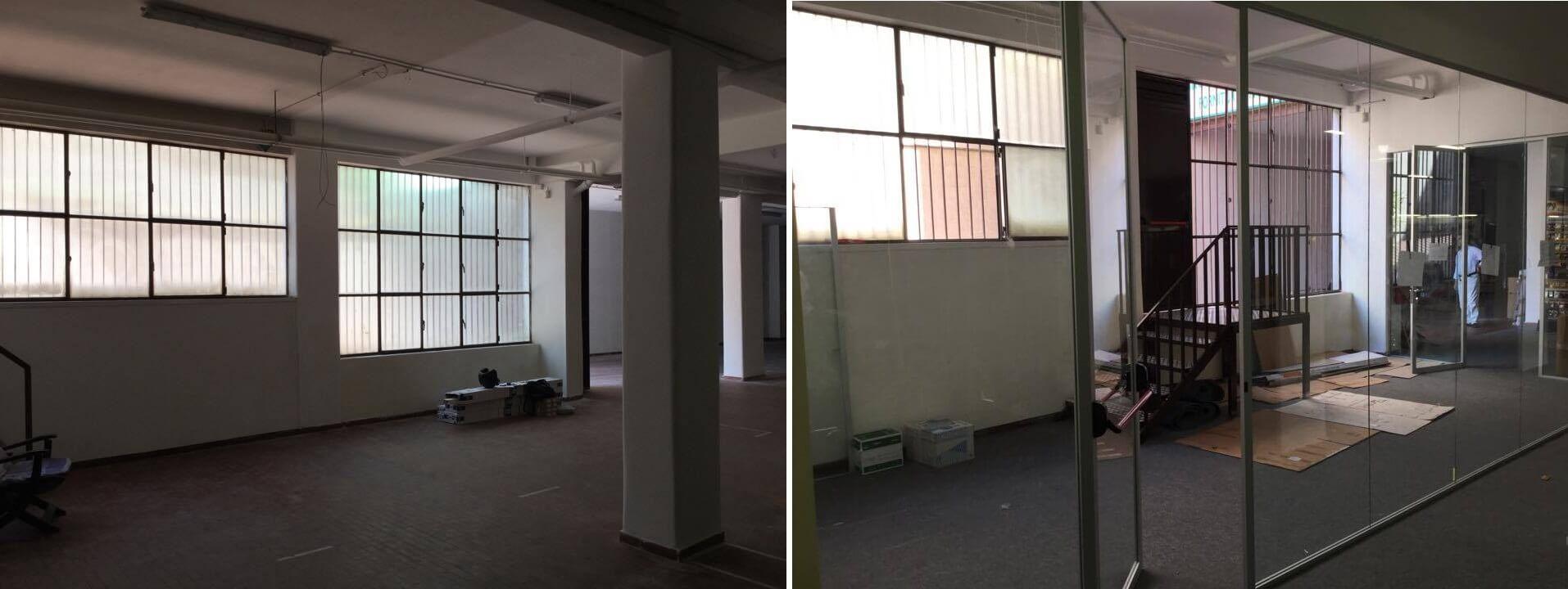 Realizzazione pareti monovetro – Gruppo Smau (1)