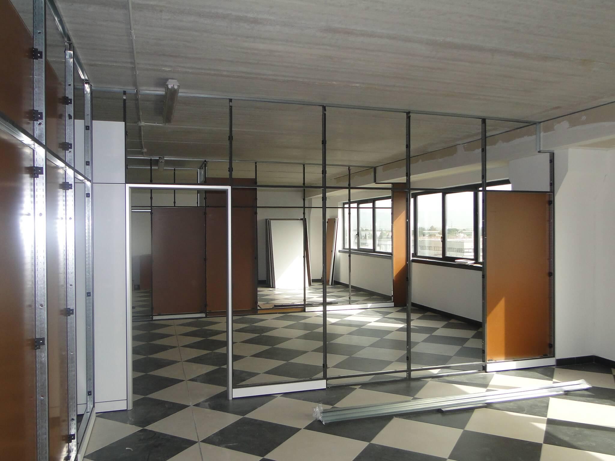 Realizzazione uffici e pareti divisorie – Roma (1)