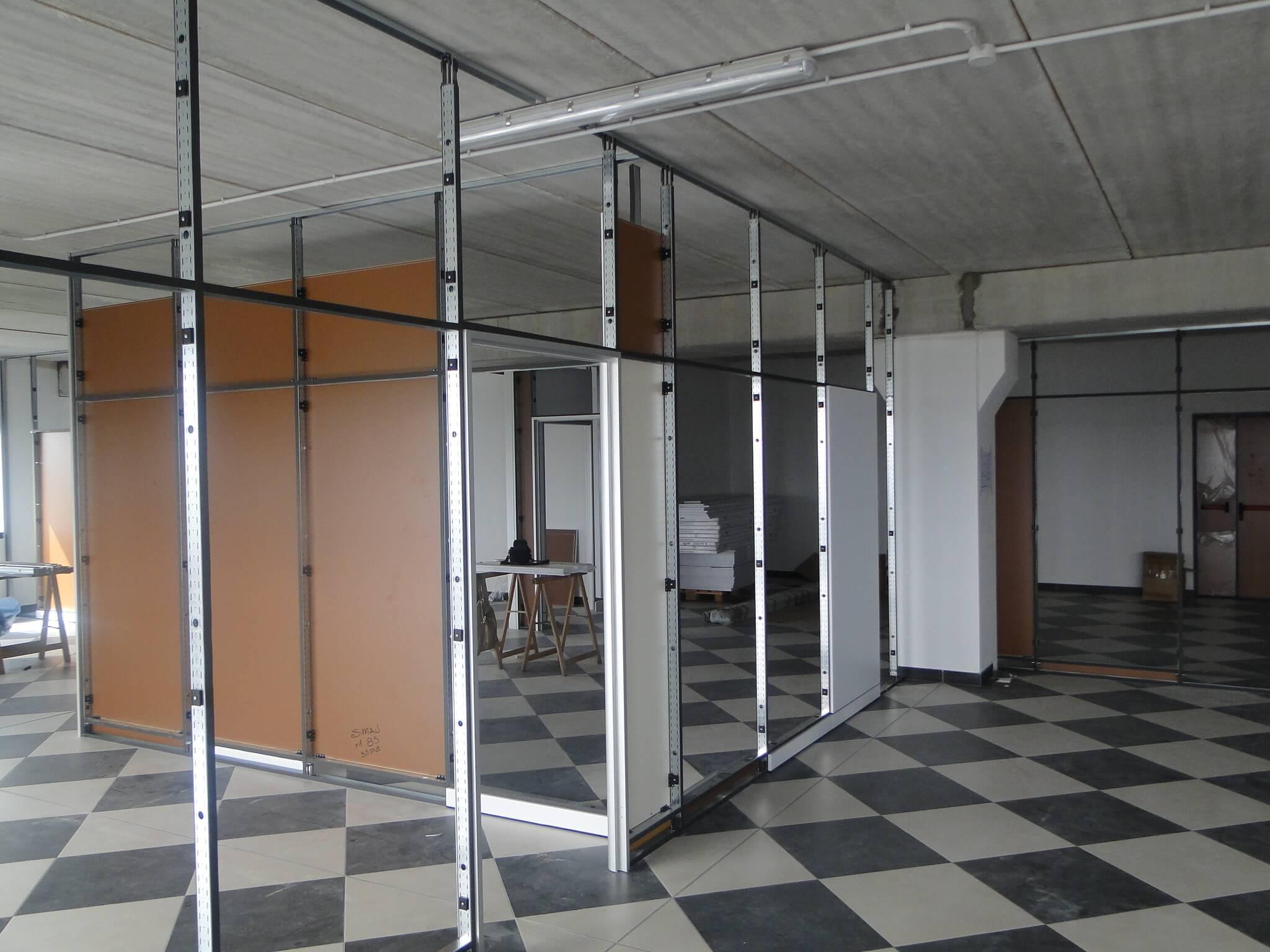 Realizzazione uffici e pareti divisorie – Roma (2)