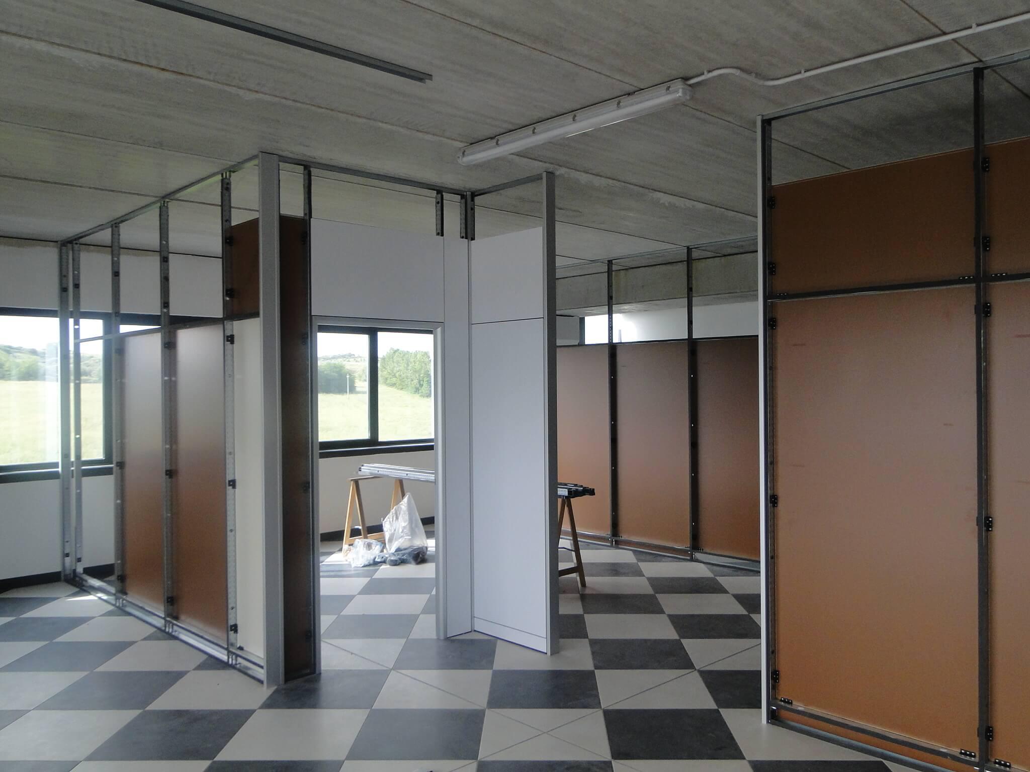 Realizzazione uffici e pareti divisorie – Roma (3)