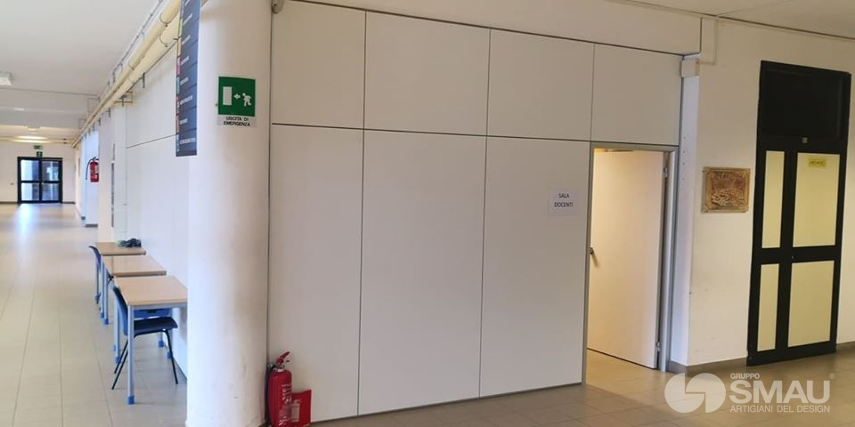 Realizzazione pareti divisorie Liceo Scientifico Touschek – Grottaferrata (1)