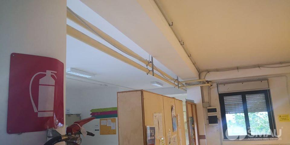 Realizzazione pareti divisorie Liceo Scientifico Touschek – Grottaferrata (3)