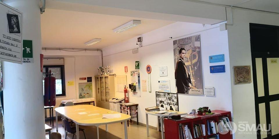 Realizzazione pareti divisorie Liceo Scientifico Touschek – Grottaferrata (4)