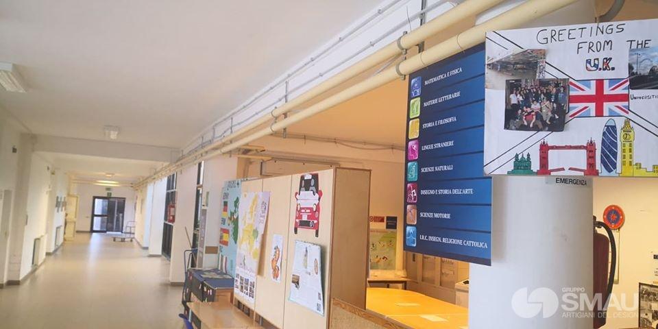 Realizzazione pareti divisorie Liceo Scientifico Touschek – Grottaferrata (5)