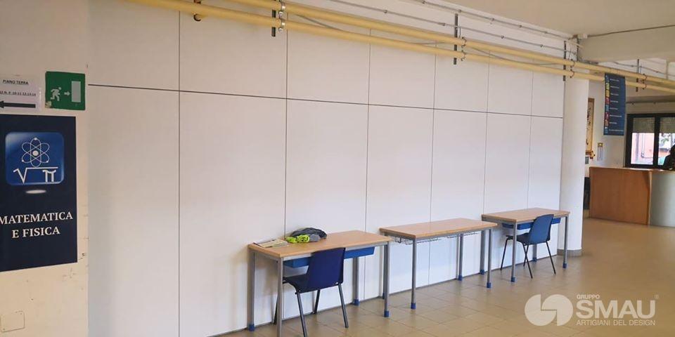 Realizzazione pareti divisorie Liceo Scientifico Touschek – Grottaferrata (6)
