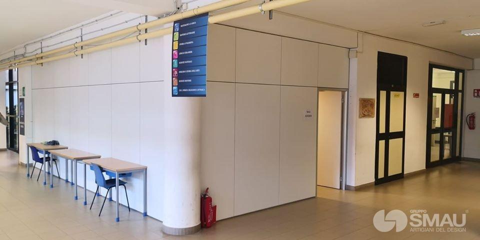 Realizzazione pareti divisorie Liceo Scientifico Touschek – Grottaferrata (7)